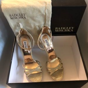 NIB NWT Badgley Mischka Signify Evening Sandal